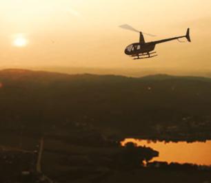 Let vrtulníkem pro 3 osoby