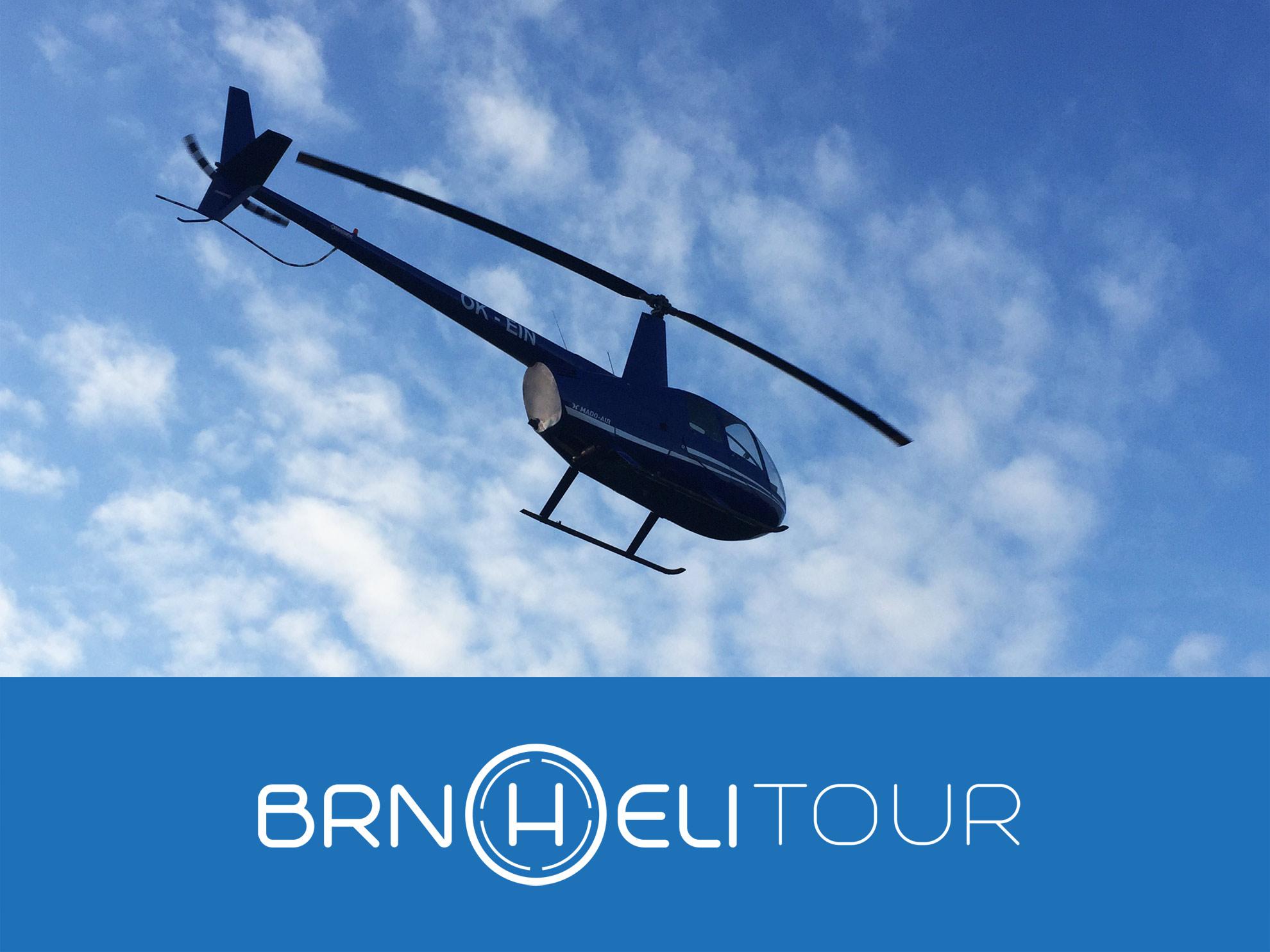 Romanticky let vrtulníkem Brno pro 2 osoby