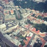 Helicopter panoramic flights above Brno